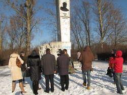 W lutym ubiegłego roku Rosjanie zorganizowali oficjalne uroczystości pod pomnikiem generała Iwana Czerniachowskiego