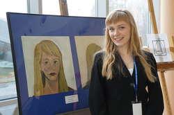 Sabina Anna Niedbała podczas Studenckich Spotkań Kulturalnych w 2013 roku.