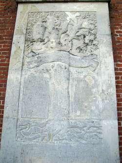 Pamiątkowa tablica poświęcona mieszkańcom Słobit, którzy zginęli w czasie I wojny światowej ( kościół w Słobitach)