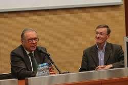 Gościem spotkań był wybitny reżyser Krzysztof Zanussi