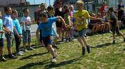 XWiosenne biegi sztafetowe w Szkole Podstawowej w Galinach