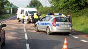 Wypadek na mławskim odcinku E7