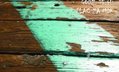 Kolorowe ławki w Ornecie