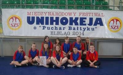 Szkoła Podstawowa z Godkowa na festiwalu unihokeja