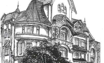 Olsztyńskie kamienice - rysunki, fotografie i wykład