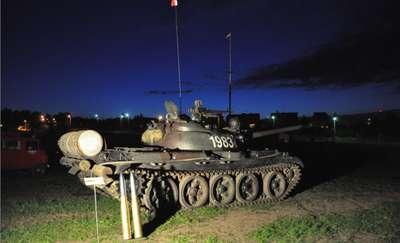 Noc w Muzeum Sprzętu Wojskowego w Mrągowie