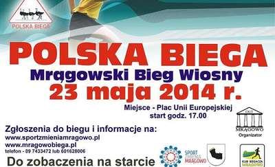Mrągowski Bieg Wiosny - pobiegniesz?