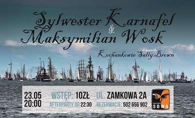 Szanty w Galerii Sowa. Zagrają KARNAFEL & Maksymilian WOSK