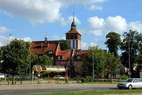 Kościół Farny w Bartoszycach z XIV wieku