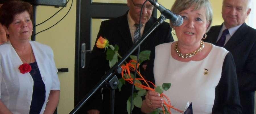 Złote Odznaki Honorowe otrzymały panie Halina Milewska i Janina Tykarska