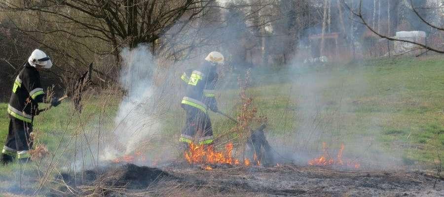 Strażacy z Reszla co roku wyjeżdżają do blisko 100 zdarzeń.