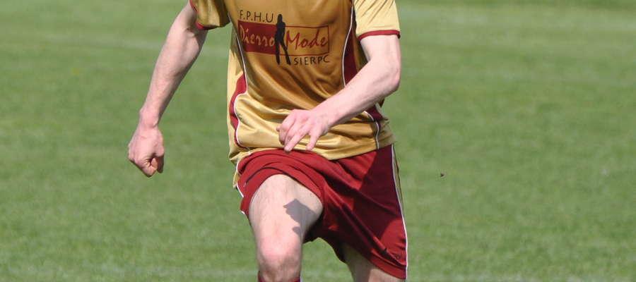 Maciej Watkowski zdobył jedną z bramek dla Boruty