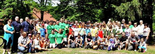 W ubiegłym roku 24 kilometrowa trasę przejechało 104 uczestników