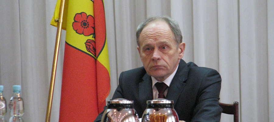 Wicestarosta Janusz Gójski