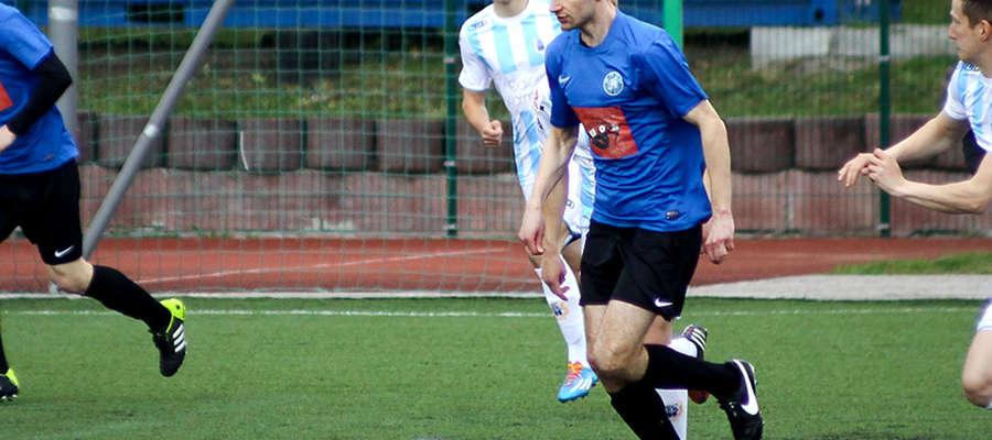 Łukasz Bogdanowicz strzelił zwycięską bramkę w meczu DKS - MKS.