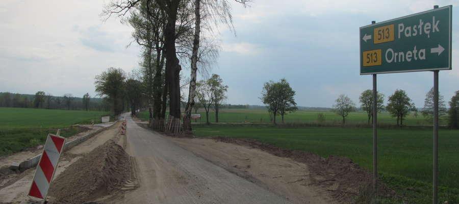 Droga 513 Pasłęk - Orneta