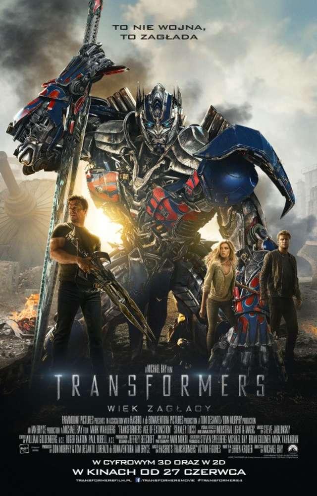 Przedwakacyjny seans - Transformers: Wiek zagłady  - full image