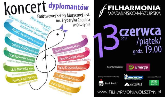 Koncert młodych talentów w olsztyńskiej filharmonii - full image