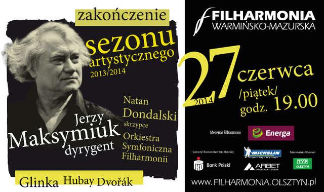 Maestro Jerzy Maksymiuk w Olsztynie - full image