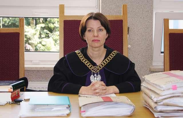 Nowa prezes Sądu Rejonowego w Ostrowi, Danuta Kwiatkowska  - full image
