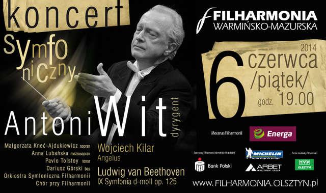 Koncert — Angelus Wojciecha Kilara i IX Symfonia Ludwiga van Beethovena - full image