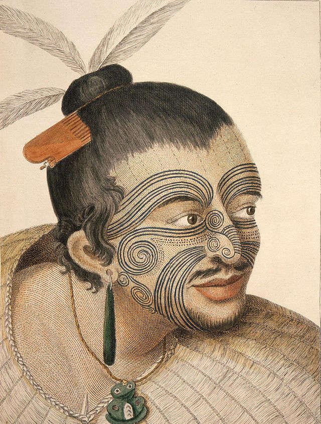 Tatuaż do Europy przywiózł James Cook   - full image