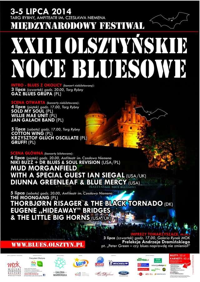 XXIII Olsztyńskie Noce Bluesowe - full image