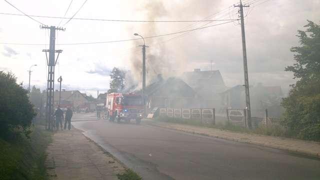 Do pożaru budynku doszło w niedzielę, 1 czerwca - full image