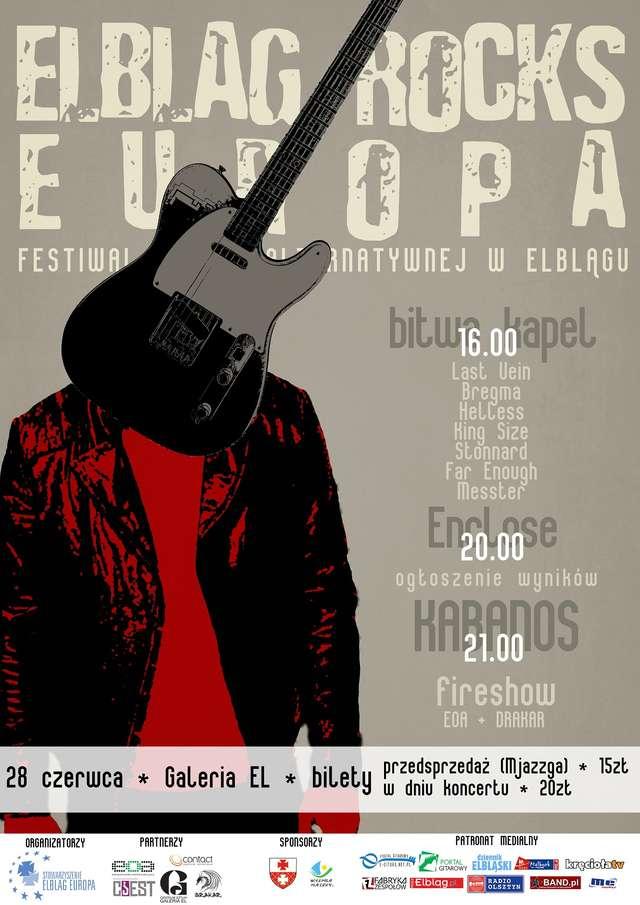 Już w sobotę festiwal Elbląg Rocks Europa - full image