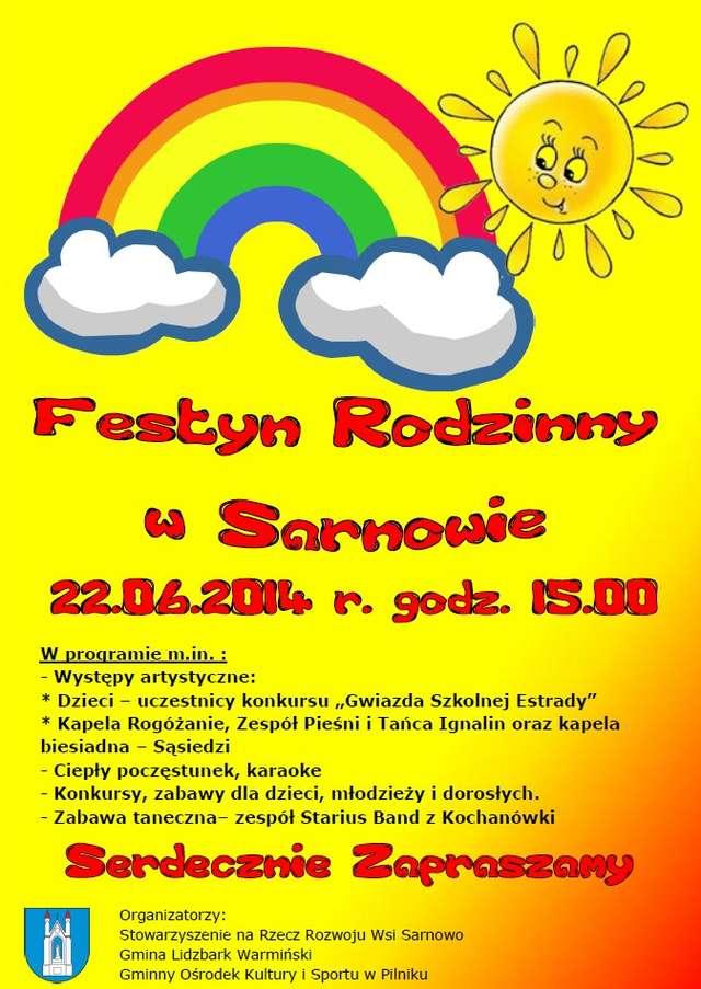 Festyn Rodzinny w Sarnowie - full image