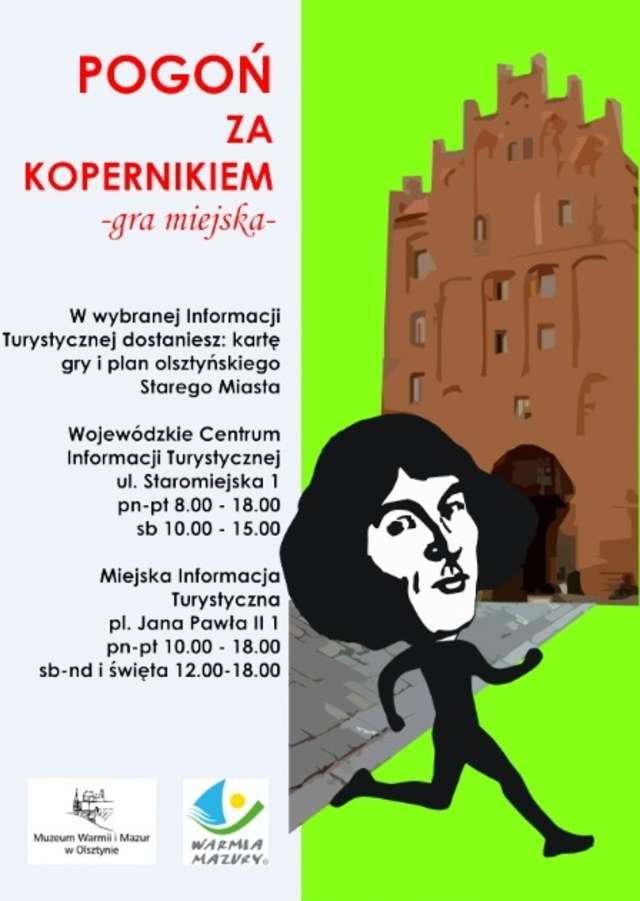 Olsztyn: jak dogonić Kopernika - czyli miejska gra turystyczna - full image
