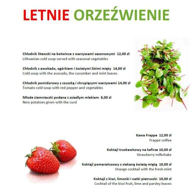 Letnie orzeźwienie w Hotelu Wileńskim - full image