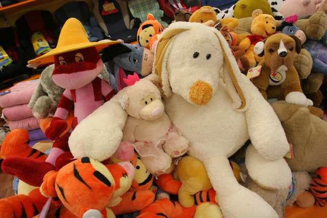 Zabawki w podróży - full image