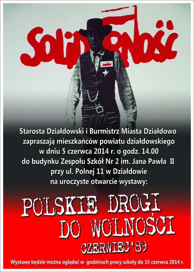 Otwarcie wystawy Polskie Drogi do Wolności. Czerwiec `89 - full image