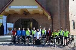 Pojechali rowerem do Częstochowy