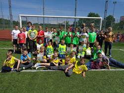Chłopcy rozegrali turniej piłki nożnej