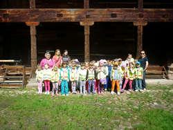 Przedszkolaki z Małkini wybrały się na wycieczkę do Ciechanowca