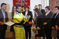 Przedstawiciele z Bremabte di Sopra wręczyli stypendia burmistrza
