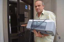 Zbigniew Skarpetowski do INB wybrał się ze swoją drukarką