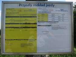 Na przystanku Szulborze-Koty będzie zatrzymywał się pociąg