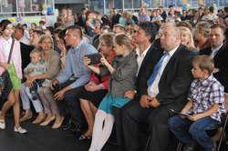 Podczas obchodów obecni byli radni gminy Wąsewo, pracownicy urzędu oraz mieszkańcy