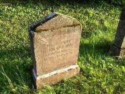Grób Johanesa Walkowiaka na cmentarzu wojskowym w Marcinowej Woli koło Giżycka.