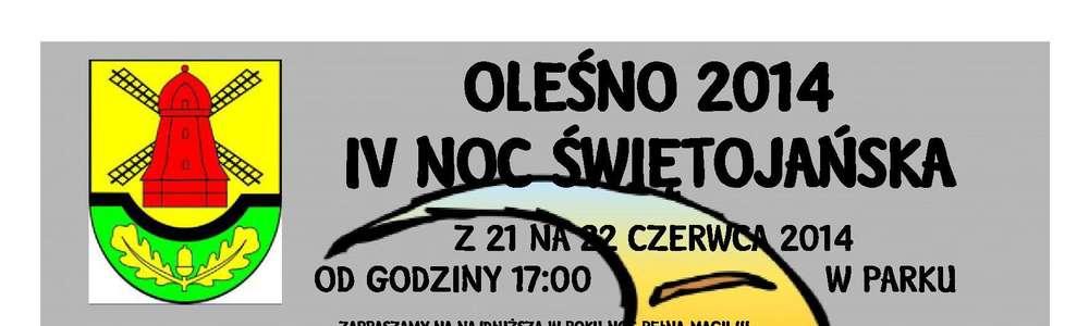 Noc świętojańska w Oleśnie. Sprawdź, co się będzie działo