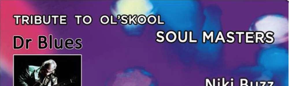 """fragment okładki do płyty """"Dr Blues – Triubte To Ol'Skool Masters"""""""