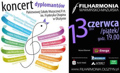 Koncert młodych talentów w olsztyńskiej filharmonii