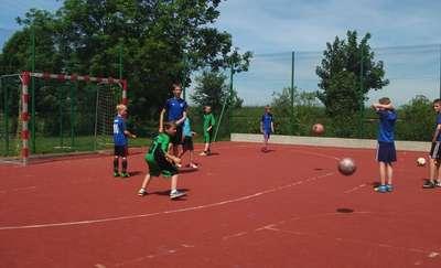 Turniej piłki nożnej w Cimochach