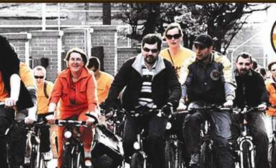 Bibliotekarze i rowerzyści łączą siły! Bo książka jest spoko
