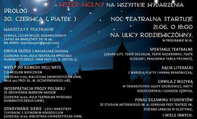 II Plenerowa Noc Teatralna im. Krystyny Spikert