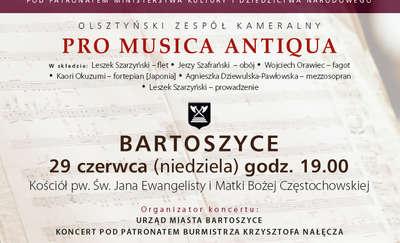 """Pro Musica Antiqua"" w Bartoszycach"