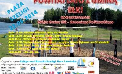Powitaj lato z Gminą Ełk - zabawy i koncerty w Szeligach